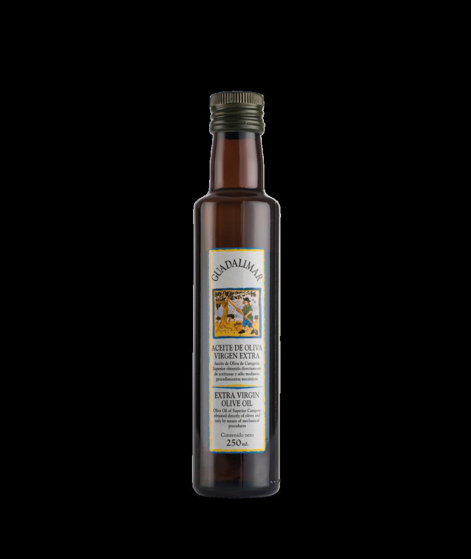 Caja de 15 botellas de 250 ml AOVE Gran Selección de cristal | Aceites Guadalimar