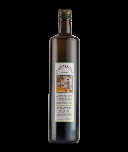 Caja de 12 botellas de 750 ml AOVE Premium Gran Selección de cristal | Aceites Guadalimar