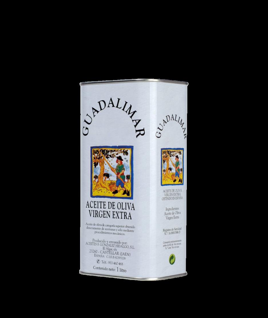 Caja de 15 latas de 1L AOVE Premium Gran Selección | Aceites Guadalimar