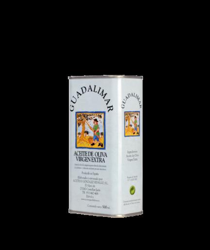 Caja de 30 latas de 500 ml AOVE Premium Gran Selección | Aceites Guadalimar