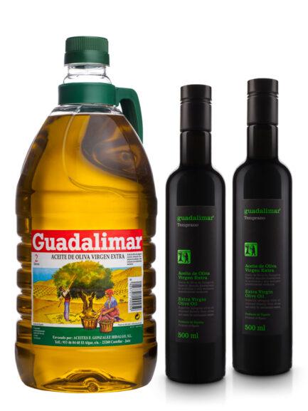 Pack Conoce Nuestros Aceites de Oliva Virgen Extra 1 | Aceites Guadalimar