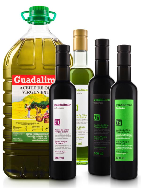 Pack Conoce Nuestros Aceites de Oliva Virgen Extra 2 | Aceites Guadalimar