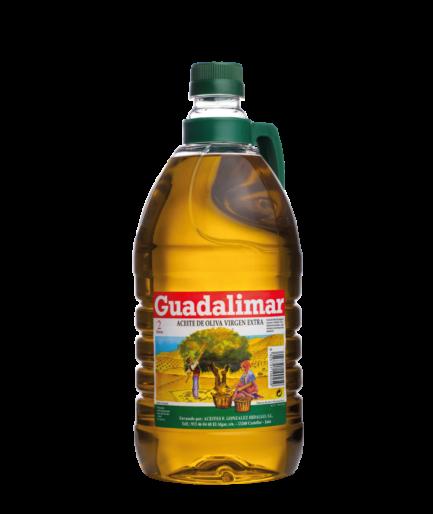 Caja de 6 botellas de 2L de aceite de oliva virgen extra | Aceites Guadalimar