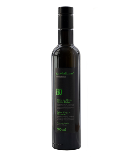 Caja de 6 botellas de 500 ml Willy DOP AOVE Temprano Etiqueta Negra | Aceites Guadalimar